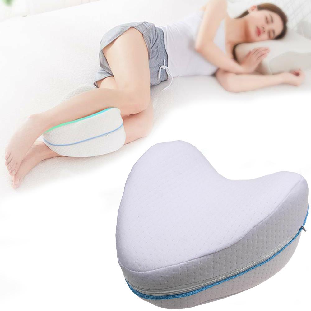 Dormire Con Cuscino Tra Le Gambe.Cuscino Memory Foam Per Gambe Ginocchia Supporto Sollievo